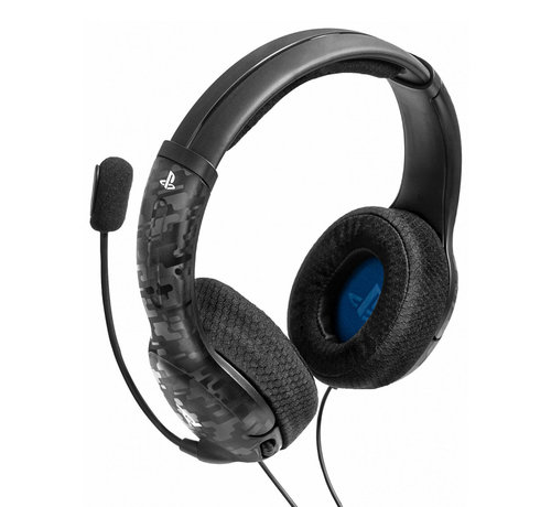 PDP Gaming Afterglow - LVL40 Stereo Headset (Zwart Camo)