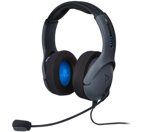 PDP Gaming Afterglow - LVL50 Wired Headset (Grijs)