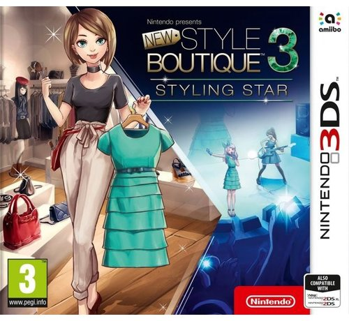Nintendo New Style Boutique 3: Sterstyliste
