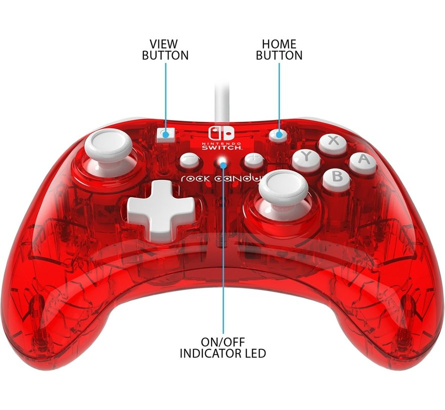 Rock Candy Mini Switch Controller - Stormin Cherry