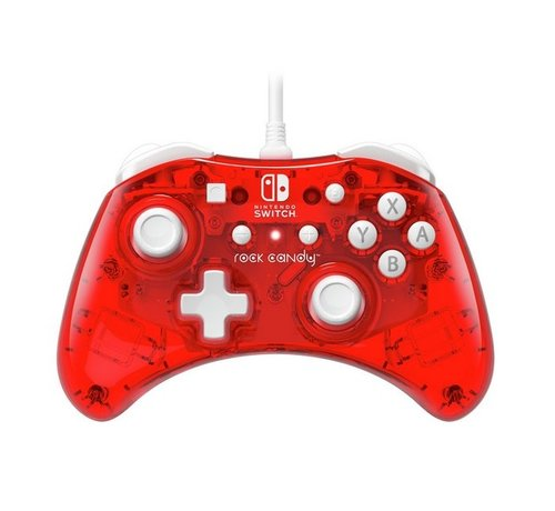 PDP Gaming Rock Candy Mini Switch Controller - Stormin Cherry
