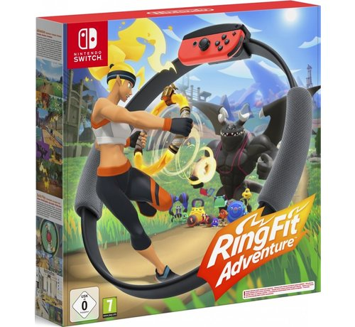 Nintendo Ring Fit Adventure (+Ring-con en beenband)