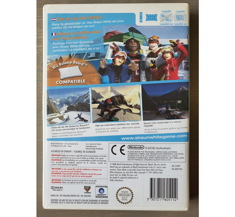 Shaun White Snowboarding (gebruikt)