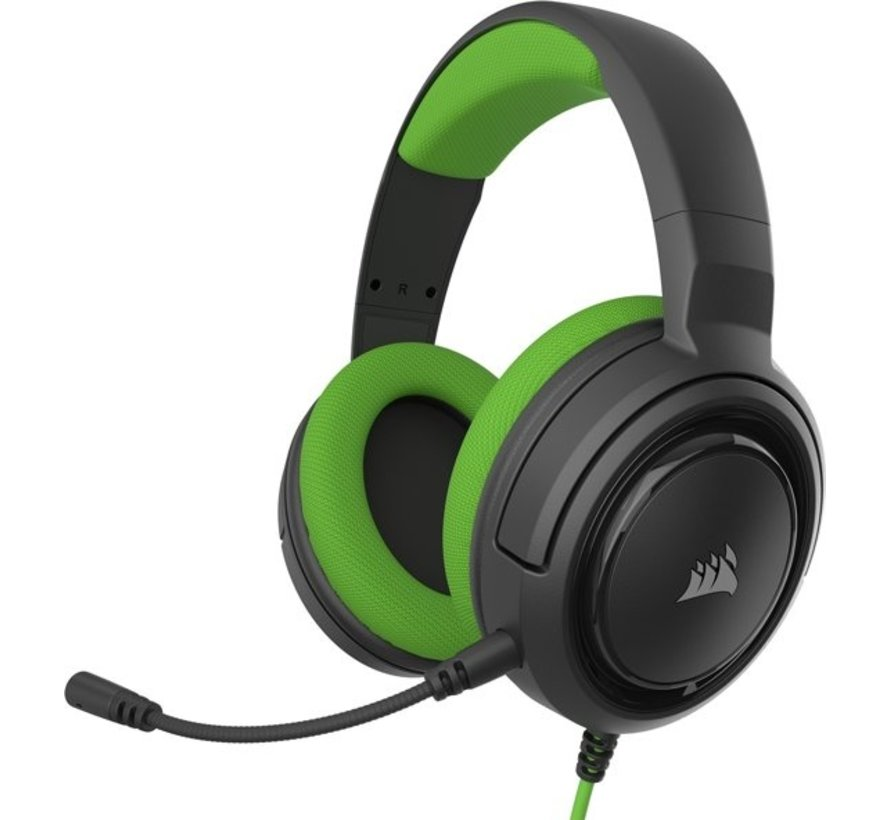 HS35 Stereo Gaming Headset - Green