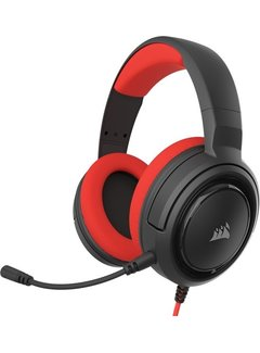 Corsair Headset HS35 Stereo Gaming Headset - Red