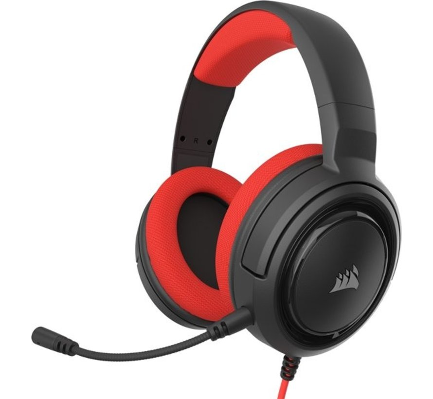 HS35 Stereo Gaming Headset - Red