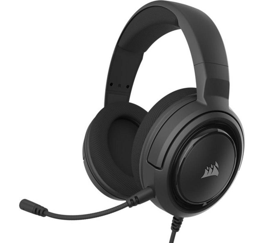 HS35 Stereo Gaming Headset - Carbon
