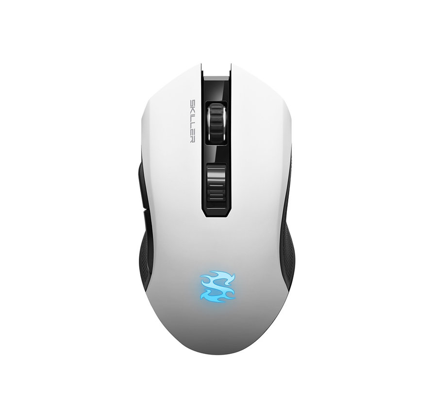 Draadloze Skiller SGM3 Gaming muis - Wit