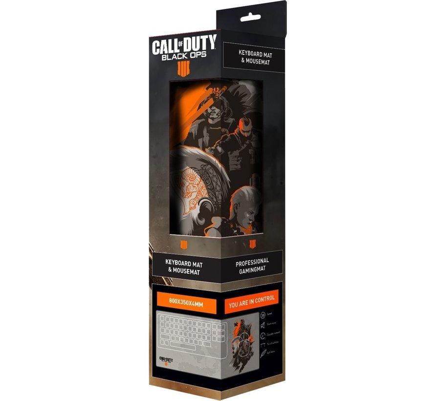 Call of Duty: Black Ops 4 Gaming Muismat - Grijs