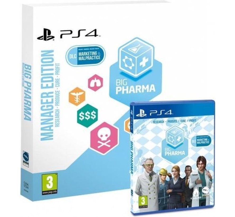 Big pharma - Manager edition kopen