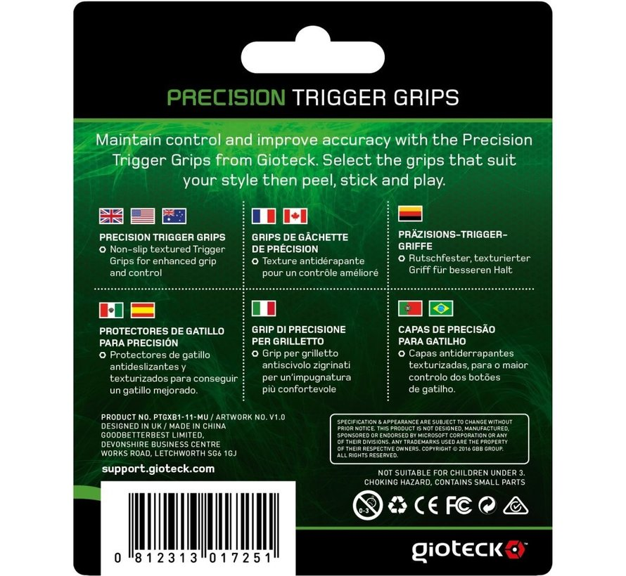 Gioteck Precision Trigger Grips