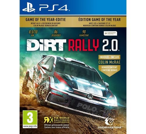 Codemasters DiRT Rally 2.0 Game of the Year Edition incl. Colin McRae FLATOUTPack