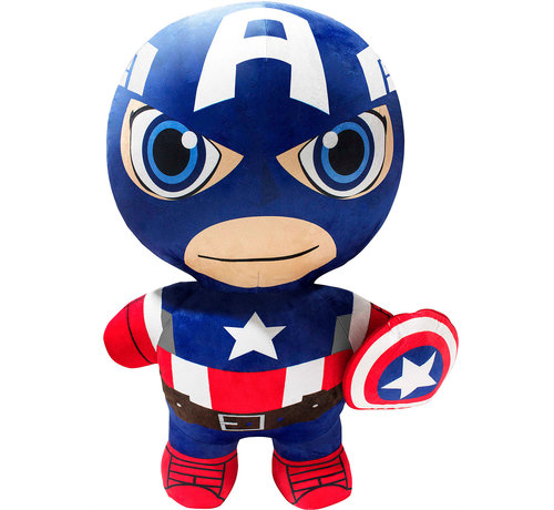 Inflate-A-Heroes Opblaasbare Knuffel / Pluche - Marvel - Captain America (76cm)