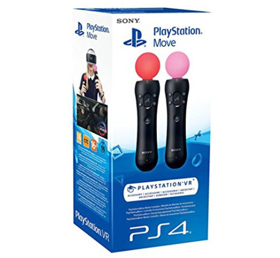 PS4 Move twin pack