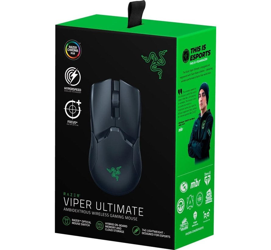 Draadloze Viper Ultimate Gaming Muis