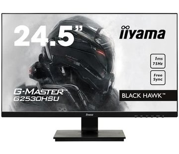 Iiyama 24.5'' G-Master Black Hawk Full HD Gaming Monitor G2530HSU-B1