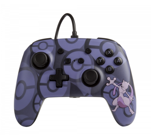 Power A Bedrade Switch Controller - Pokemon Mewtwo