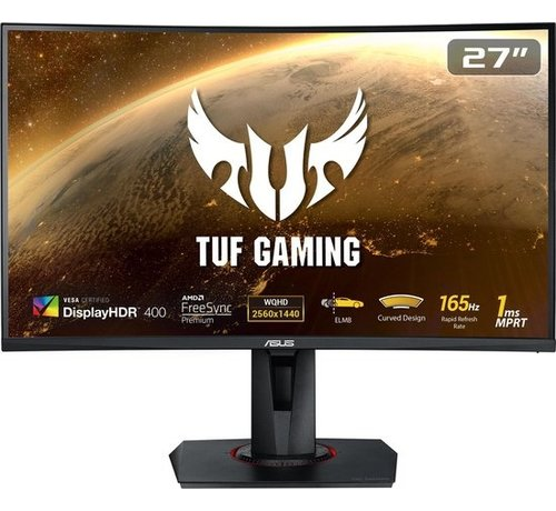 "Asus 27"" TUF VG27WQ WQHD Curved Gaming Monitor"
