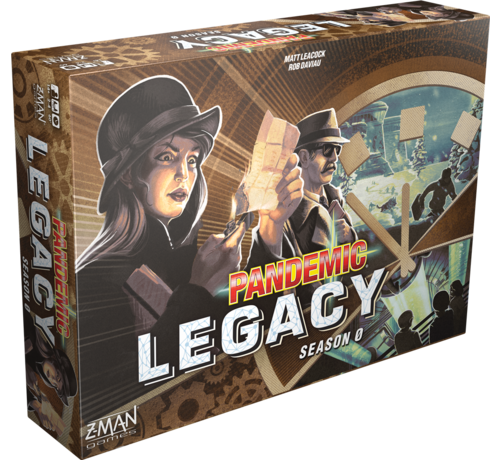 Z-Man Games Pandemic Legacy: Season 0 - NL