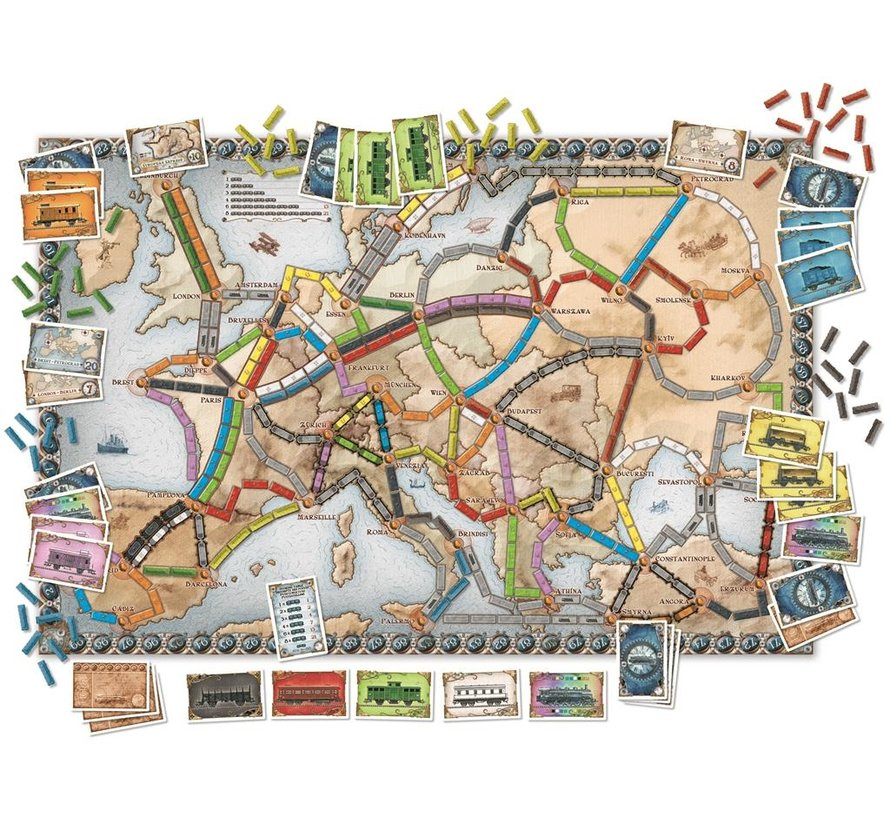 Ticket to Ride Europe - NL