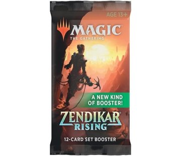 Wizards of the Coast Magic: the Gathering Zendikar Rising Booster