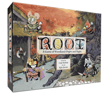 Leder Games Root: A Game Of Woodland Might & Right - ENG
