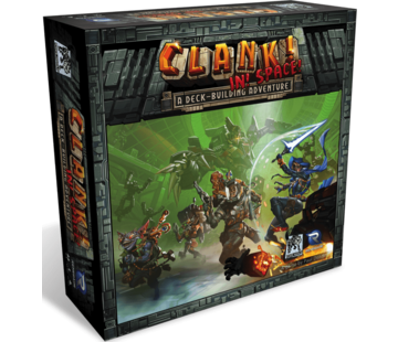Renegade Game Studios Clank! In! Space!: A Deck-Building Adventure - EN