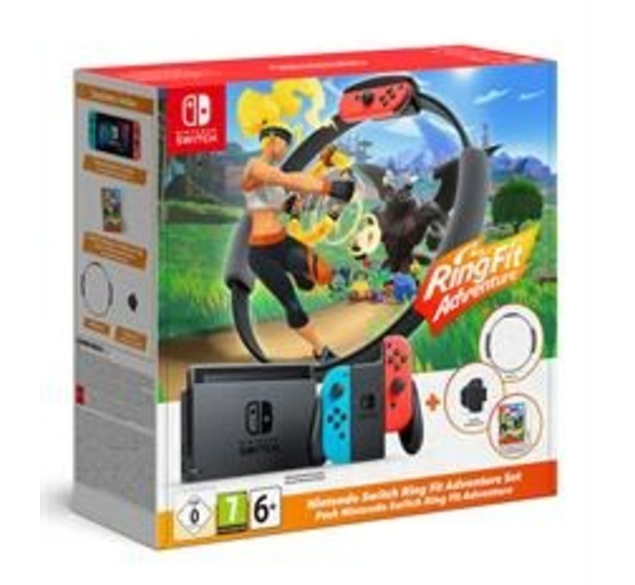 Switch Console - Blauw / Rood - Incl. Ring Fit Adventure