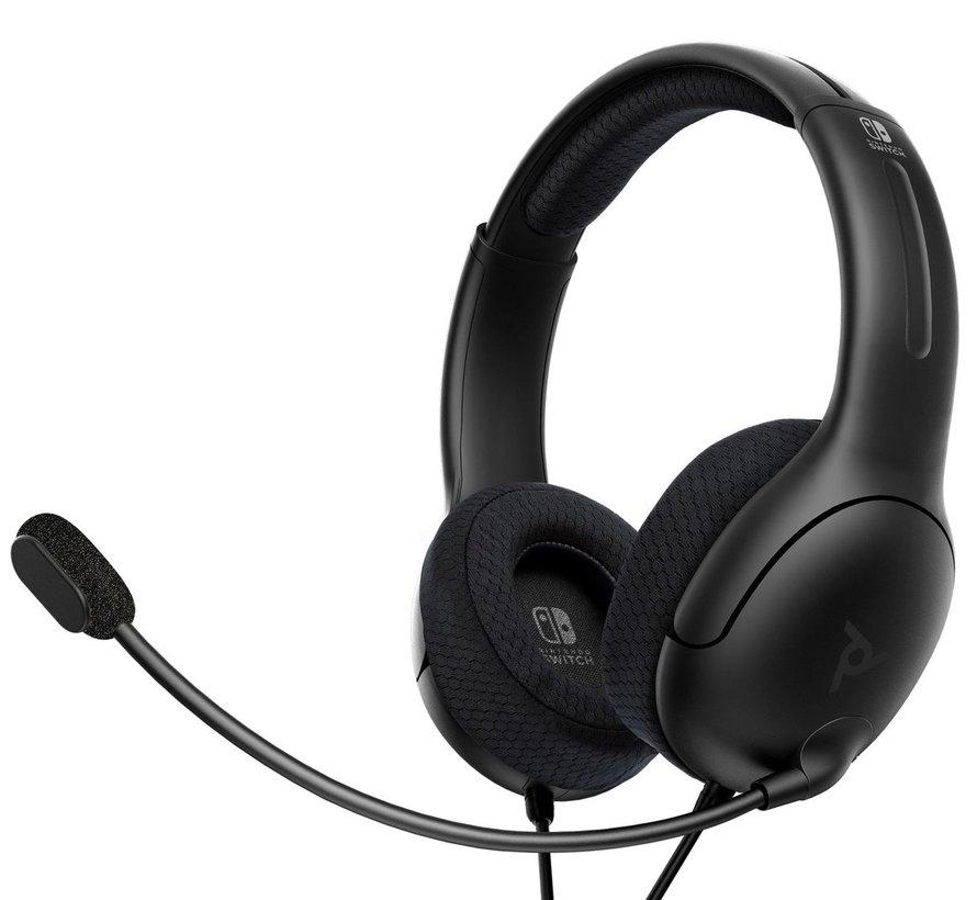 LVL40 Nintendo Switch/Lite Stereo Gaming Headset - Zwart