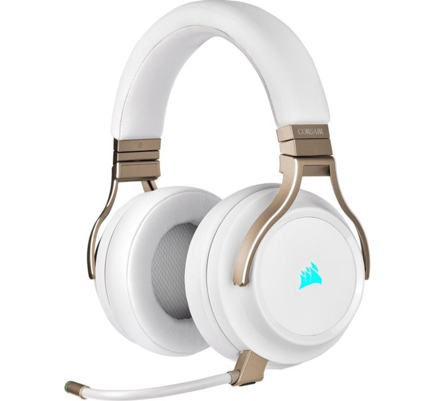 Corsair Virtuoso RGB Wireless High-Fidelity Gaming Headset - Pearl (PS5/PS4/Xbox One/PC/Nintendo Switch/Mobile Devices) kopen