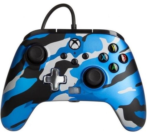 Power A POWER A - Wired Controller Enhanced - Camo Blue Xbox Series X