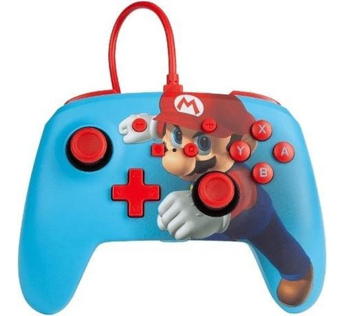 Power A POWER A - Wired Enhanced Controller Mario Punch for Nintendo Switch