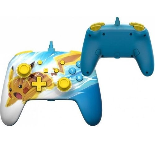 Power A POWER A - Wired Enhanced Controller Pikachu Charge for Nintendo Switch