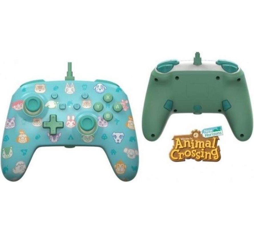 POWER A - Wired Enhanced Controller Animal Crossing for Nintendo Switch