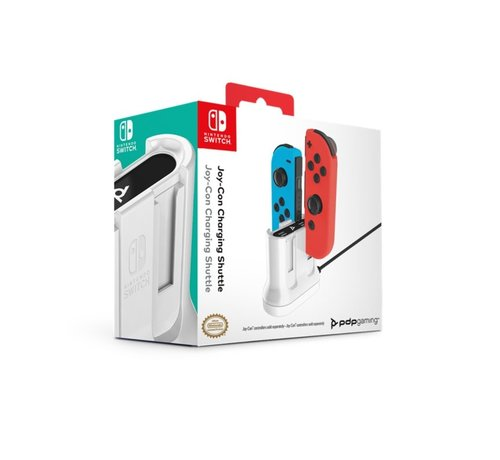 PDP Gaming Joy Con Nintendo Switch Oplaadstation - Wit