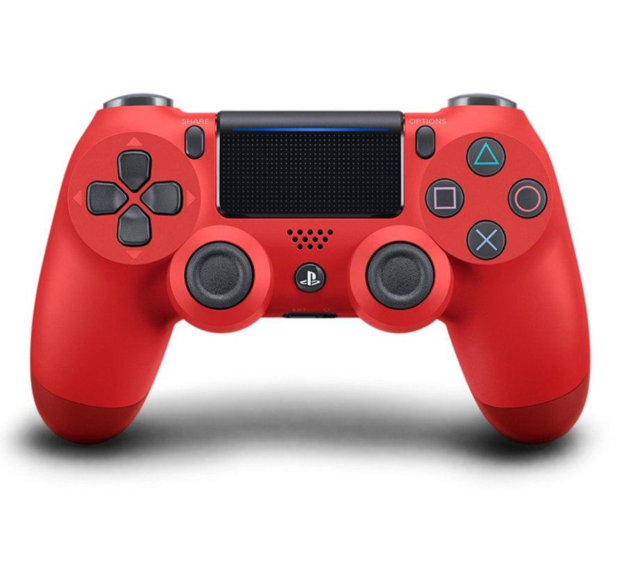 Dual Shock 4 Controller V2 - PS4 - Rood
