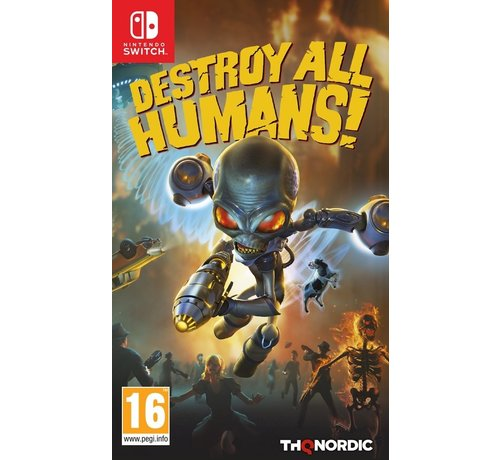 Thq Nordic Destroy All Humans kopen
