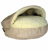 SnooZer Cozy Cave Luxury Microsuède XL (114cm)