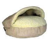 SnooZer Cozy Cave Luxury Microsuède M/Large (89cm)