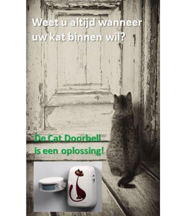 Cat Doorbell - deurbel voor katten