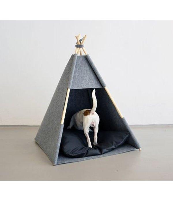 Lucky Lamb Tipi voor honden en katten | Vilt tent in