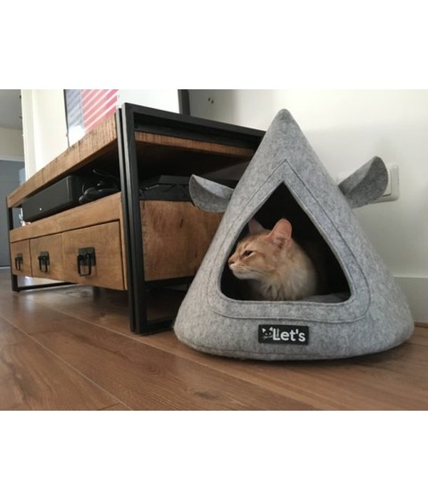 Let's Sleep Pet Cave TeePee