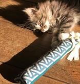 Tabby Tijger Trappelkussen met kattenkruid, valeriaan, matatabi of mix - Hervulbaar