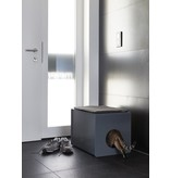 MiaCara Sito Litter Box Grey, showroom model