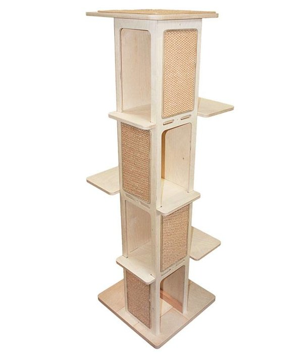 Tower Slim Climbing and Scratching