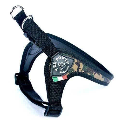 Tre Ponti Fibbia Adjustable Girth Army-Camouflage
