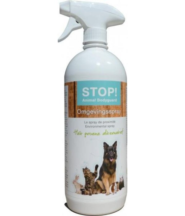 Musthaves for Animals STOP! Environmental spray, The green alternative agains fleas