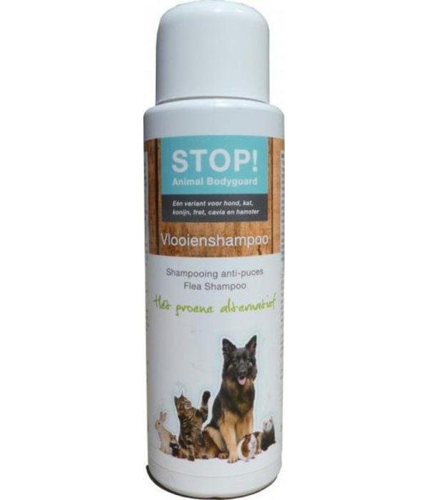 Musthaves for Animals STOP! Vlooienshampoo 250ml, Het groene alternatief