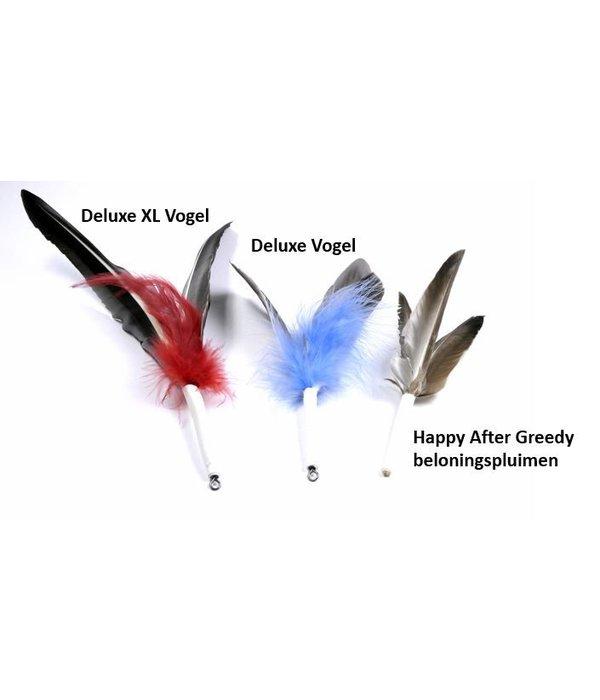 Tabby Tijger Rod with flying bird