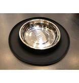 Cat Bowl Black Silicon Base